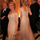 New Long Lace Mother of the Bride Groom Dress Guest Women Formal Gowns