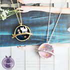 Japan Harajuku Style Cat Branch Necklace Kitty Moon Star Cosmo Earth Kawaii Cute