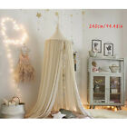 Children's sleep Bed Canopy Bedcover Mosquito Net Bedding Dome Tent Cotton 8224