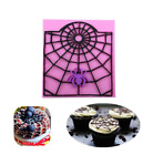 Spider Web Cake Silicone Mold Chocolate Mould Baking Soap Molds Decor Tools New
