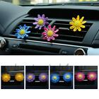 Flower Car Air Conditioning Vent Clip Perfume Freshener Outlet Smell Fragrance