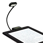 Clip On Reading Light Dual LED for Nook eBook Readers Tablet Book and Textbook