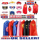 ADULT Batman Batgirl Superman Superhero Cape Fancy Dress Costume Stag Hen Party