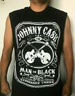 NEW! JOHNNY CASH PUNK ROCK BAND SLEEVELESS SHIRT image