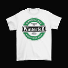 adult funny game - Winterfell Beer Game of Thrones T-Shirt Unisex Cotton Funny Adult Heineken New