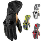 Icon Hypersport Pro Long Leather Motorcycle Gloves