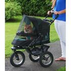 PET GEAR NV NO ZIP DOG CAT STROLLER JOGGER PLUSH PAD & WEATHER COVER NEW