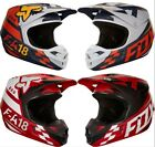 2018 Fox Racing V1 Sayak Helmet MX Motocross Dirt Bike Off Road ATV Adult MTB