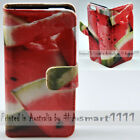 For Sony Xperia Series - Watermelon Theme Print Wallet Mobile Phone Case Cover