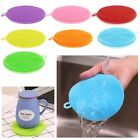 Silicone Dish Washing Sponge Scrubbers Pad Kitchen Cleaning Mat Washing Tools