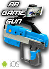 3D Bluetooth AR VR Virtual Reality Shooting Gun Game for iPhone X 8 7 6s plus
