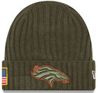 Mens NFL 2017 Salute To Service Knit Hat (Several Teams) фото