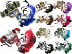 Masquerade Mask Set Mardi Gras Costume Birthday Party Venetian Jester Collection