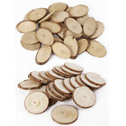 Wooden Wood Log Slices Natural Tree Bark Decorative Disc Woodworking Tree Branch