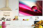 AB267 Pink Blue Bead Abstract Canvas Wall Art Framed Picture Print