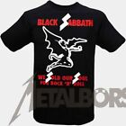 "Black Sabbath "" We Sold Our Soul "" T-Shirt 105497#"