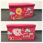 Toy Chest Collapsible Box Storage Kids Organizer Bedroom Bin Trunk Playroom New