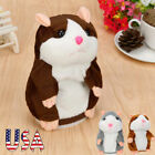 Maggy The Talking HAMSTER PLUSH TOY Adorable Mimicry Pet Speak Talking Record