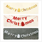 Pull Flowers Banners Letters Christmas Decoration Ornaments Window Pendant