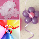 5pcs Latex Balloon Arch Stand Connectors Clip Flower Shape Sealed Birthday Party