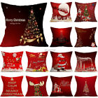 "18"" Christmas Style Cotton Linen Pillow Cases Sofa Cushion Covers Pillow Covers"