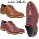 Mens Brogue Formal Oxford Lace Work Office Formal Shoes UK Size 7 8 9 10 11 12