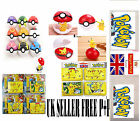 New Kids children Pokemon Pokeball Pop-up 7cm Plastic Ball Toy Action Figure