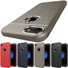 SLIM Genuine Leather UltraThin Shockproof Case For iPhone 5 5s SE 6 6s 7 8 Plus