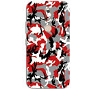 Moto M Red Camo Skin for Back