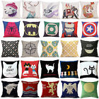 spiderman pillow - Fashion Decorative Pillow Cover Sofa Cushion Cover Throw Pillow Case Home Decor