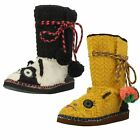 Ladies Tigerbear Republik Beastie Booties