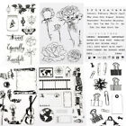 alphabet dating - 1X Alphabet Transparent Silicone Clear Rubber Stamp Sheet Cling Scrapbooking DIY