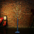 1.2m LED Silver Birch Twig Tree Warm White Light White Branches Home Decoration