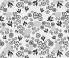 Bee Flower Floral Home Decor Fabric Printed by Spoonflower BTY