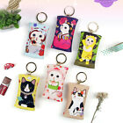 JETOY - Petit Key Ring - #2 - Cute Cat Key Chain Zipper Coin Purse Mini Bag