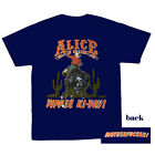 Alice In Chains Yippee-Ki-Yay music t shirt, Navy, 100% cotton, Small