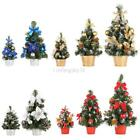 Внешний вид - Mini Christmas Tree Decor Desk Table Festival Party Ornament Xmas 20/30/40cm US