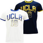Mens Ucla Crew Neck T Shirt with Large Logo - Ray - White or Navy