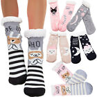 Socks woman faux fur non-slip slippers fleece warm kawaii new W1048