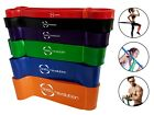 Elastic Yoga & Exercise Gym Bands Fitness Workout Stretch Loop Physio Resistance