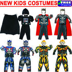 NEW SIZE 2-12 KIDS COSTUMES MUSCLE BOYS THOR STAR WARS TRANSFORMERS AVENGER GIFT $24.8 AUD on eBay