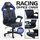 'Racing Gaming Office Chair Executive Lumbar Support Swivel Pu Leather Computer