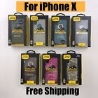 New Otterbox Defender For Apple Iphone X 10 Case Rugged Protection Belt Clip