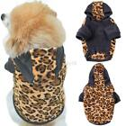 US Pet Dog Cat Puppy Sweater Hoodie Coat For Small Puppy Warm Costume Apparel