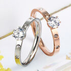 Nail Bangle Love Ring Stainless Steel Women 925 sterling Silver plated Rose Gold