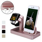 Charging Dock Station Cradle Desktop Charge Stand Holder for iPhone Apple Watch