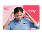 Because You Love Music - eBay Digital Gift Card $15 to $200 <br/> US Only. May take 4 hours for verification to deliver.