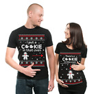Christmas Couple Matching Shirts Maternity Christmas Pregnancy Announcement Tees