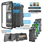 For Samsung Galaxy Clip Holster Phone Case Cover with Built-in Screen Protector