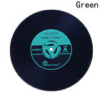 CD Records Shape Kitchen Party Bar Cup Mat Placemat Silicone Coaster Creative